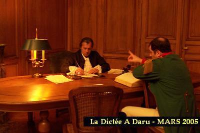 Napoléon et Daru