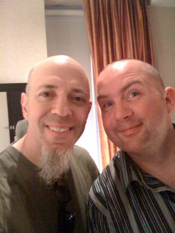 Jordan RUdess and Jem Godfrey (Frost*) 2009