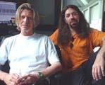 qui c'est le gringalet à côté de Jordan ?  Bowie - album Heathen