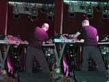 Playing at Moog Fest 2005