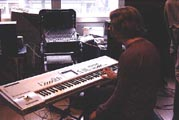 playing the Korg Triton