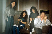 tournée avec vinnie moore, joe franco (dr) bill ashton (bass)