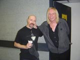 with Rick Wakeman