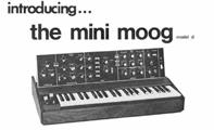 le mini-moog