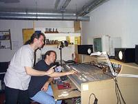 Grégory baisse de 33 % sur 1 kHz avec un passe-bande de 12° devant Nicolas qui ne comprend pas grand chose